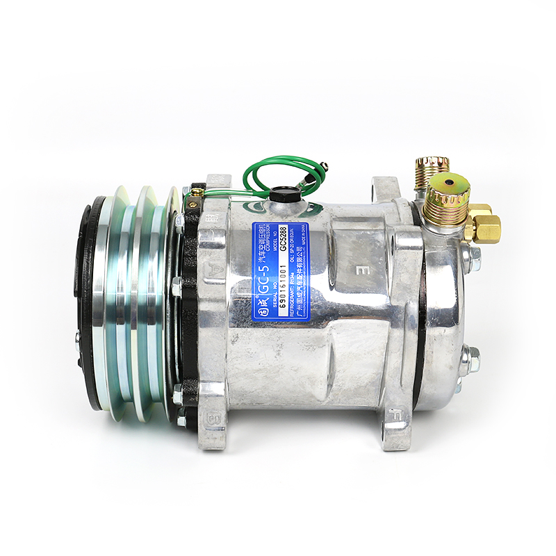 Automotive air conditioning 508 compressor assembly Excavator air pump modified universal accessories 12V/24V YAutomotive air conditioning 508 compressor assembly Excavator air pump modified universal accessories 12V/24V Y