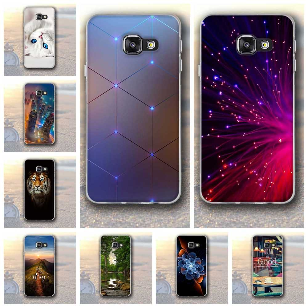 Luxury 3D Relief Printing Case For Samsung Galaxy A3 2016 Cover Soft TPU Case For Samsung Galaxy A3 2016 A310 A3100 A310F Case