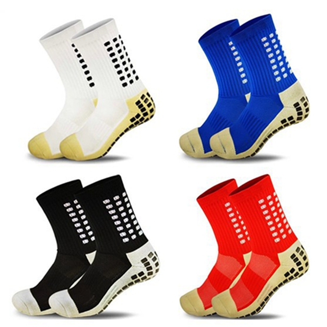 58f7fc6f0 New Anti Slip Tocksox Soccer Socks 1:1 Trusox Mid-calf Cotton Football Sock  Calcetin de futbol Meias Calcetines Bale sox. Price: