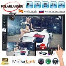 Cassette-Player Autoradio Usb-Mirror-Link Touch-Screen Bluetooth 7inch SD FM 2-Din