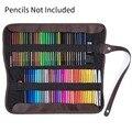72 цветные карандаши для карандашей  черный холщовый чехол для карандашей и сумка для хранения эскизов  принадлежности для рисования