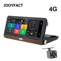 JOOYFACT E3 Araba DVR Dash kamera GPS Navigasyon Navigator Kamera 7.84 IPS 4G Android 5 BT Katibi Video Kaydedici Çift Lens 1080 P