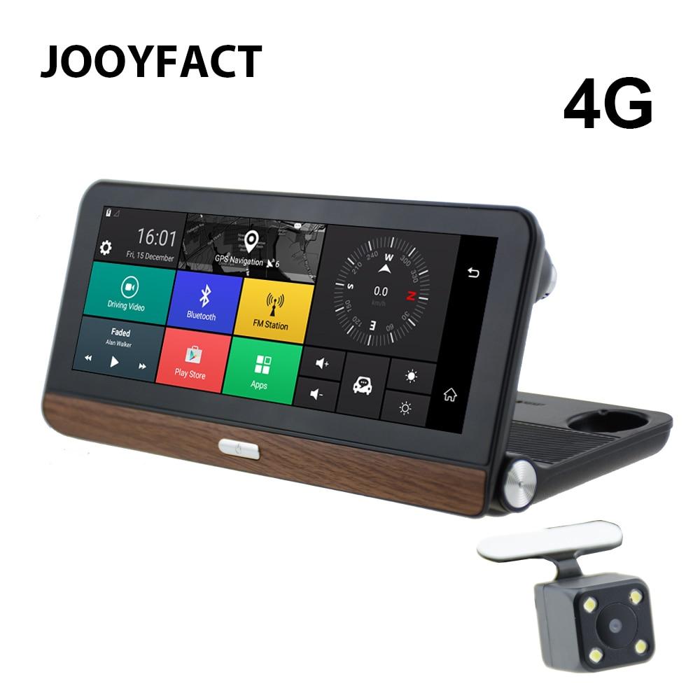 JOOYFACT E3 Car DVR Dash Cam GPS Navigation Navigator Camera 7.84 IPS 4G Android 5 BT Registrar Video Recorder Dual Lens 1080P