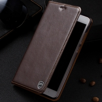 PALUNI For Oneplus 5 A5000 Case Cover Crazy Horse Flip Genuine Leather Case Cover For Oneplus5