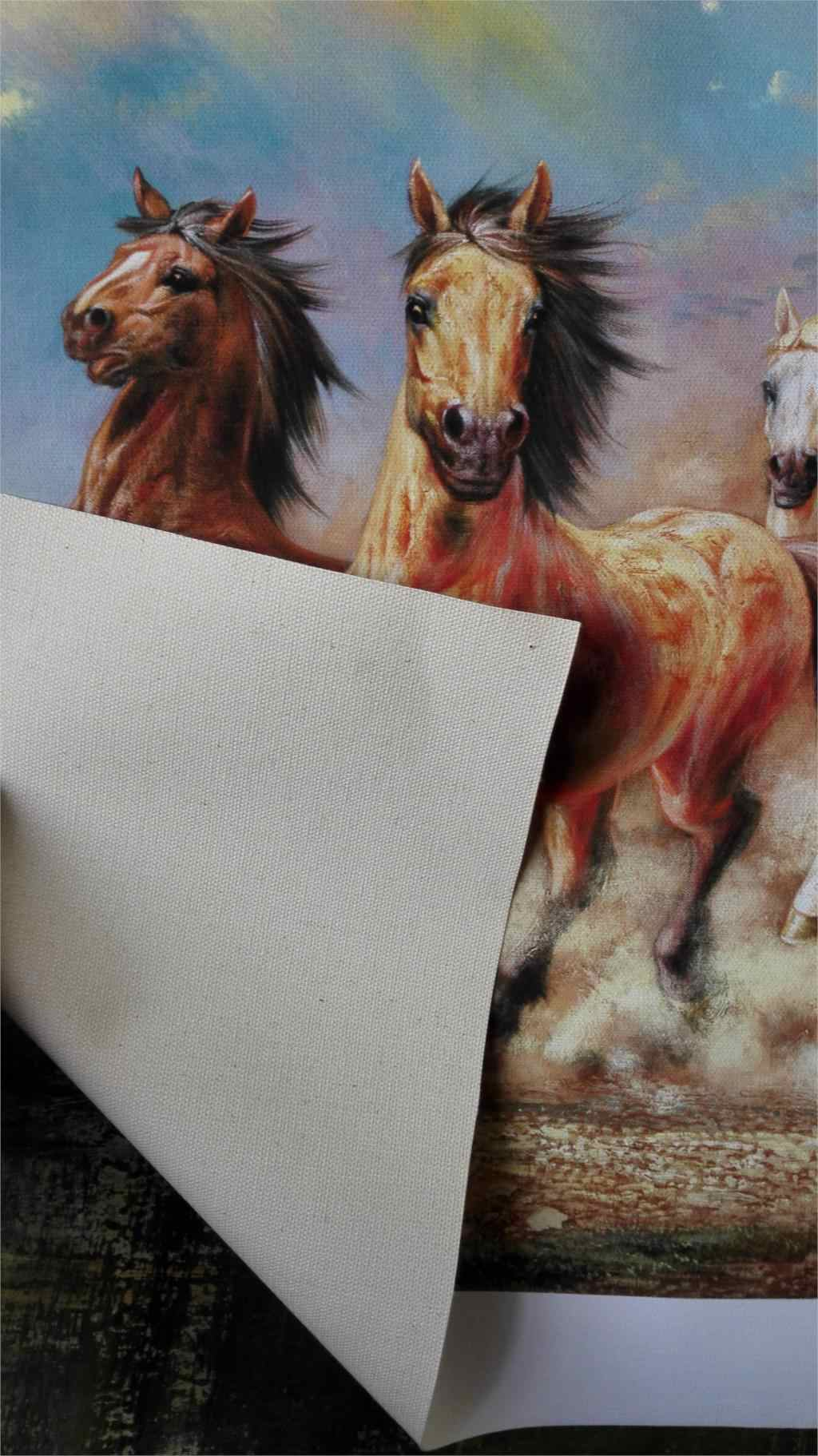 a851da021 ... 8 Running Horse Animal Modern Printed Oil Painting On Canvas Cotton  Wall Paintings Picture For Living ...