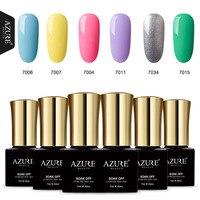 AZURE BEAUTY 60 Colors Choose Nail Gel Polish Soak Off Long-Lasting Nail Varnish 1Pcs 7ML For Professional Nail Art Nail Gel