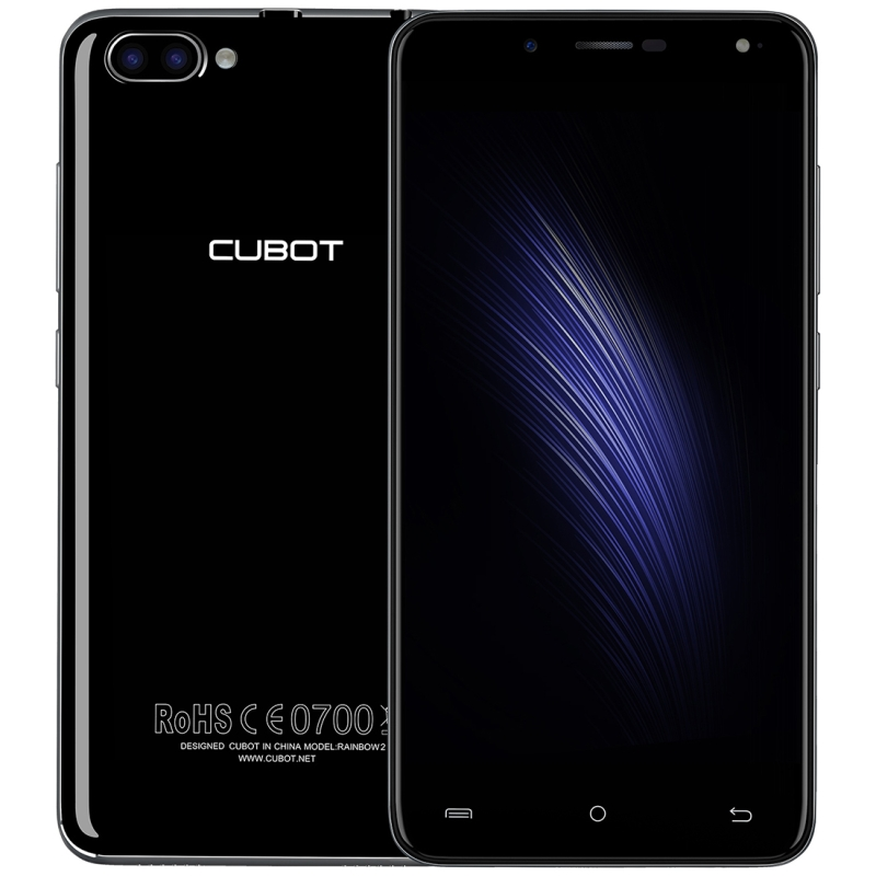 CUBOT Rainbow 2 Android 7 0 1GB 16GB 2 Back Camera with 1000mA LED Flash Light