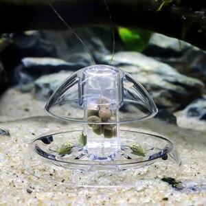 Image 2 - Aquarium Fisch Pflanzen Tank Kunststoff Klar Schnecke Trap Catcher Pflanzen Planarian Pest Fangen Box Leech Umwelt Sauber Werkzeug Neue