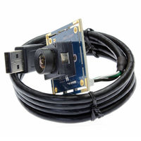 10pcs Lot 2 0megapixel MJPEG 30fps 1920 1080 OV2710 CMOS 100 Degree No Distortion Auto Focus