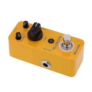 Image 5 - Mooer yellow comp マイクロミニ光学コンプレッサー効果ペダルエレキギター用トゥルーバイパス