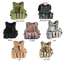 New 2015 Hunting Military Airsoft MOLLE Nylon Combat Paintball Tactical Vest Outdoor Products Live CS outdoor vest Free Shipping