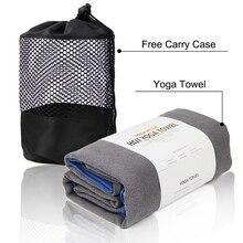 """Полотенце для йоги с 4 угловыми карманами-2"""" x 72""""-Полотенце Для Йоги из микрофибры, полотенце для йоги Bikram, полотенце для йоги Ashtanga Yoga"""