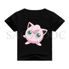 ae4baaff1131 Camisa dos miúdos T Pokemon Jigglypuff 3D T-shirt de Impressão Crianças  Roupas de Bebê