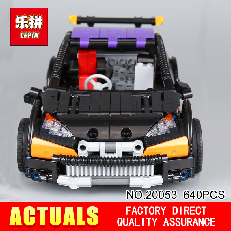 Lepin 20053 Genuine Technic Series The Hatchback Type R Set MOC-6604 Building Blocks Bricks Educational Toys to Boy Gifts Model
