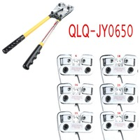 Mechanical Rotating Die Compound Wire Terminal Cable Crimper Lug Crimping Wire Crimper Tool