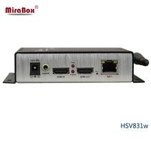 HSV831W H.264 HDMI Wi-fi Transmitter Assist UDP, HTTP, RTSP, RTMP Protocol H.264 Wi-fi HDMI Encoder 1080P Assist WEB