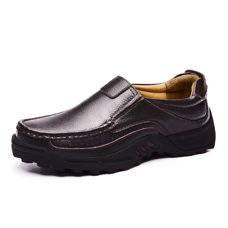 Shoes Slip Genuine Mens