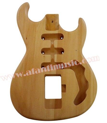 Afanti Music DIY guitar DIY Electric guitar body (AQT-007)Afanti Music DIY guitar DIY Electric guitar body (AQT-007)