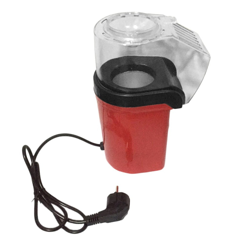 2018 Mini Portable Electric Popcorn Maker Household Automatic Popcorn Machine Air Blowing Type Popcorn DIY Popper Children Gift