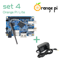 Orange Pi Lite SET 4: OPi Lite 512MB and DC Power Supply Support Android, Ubuntu, Debian