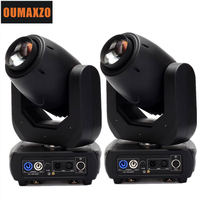 2pcs/lot 150W 3450lux 8 gobo 7 color wheel Led DMX moving head beam light for stage Professional stage gobo sharpy beam 250W