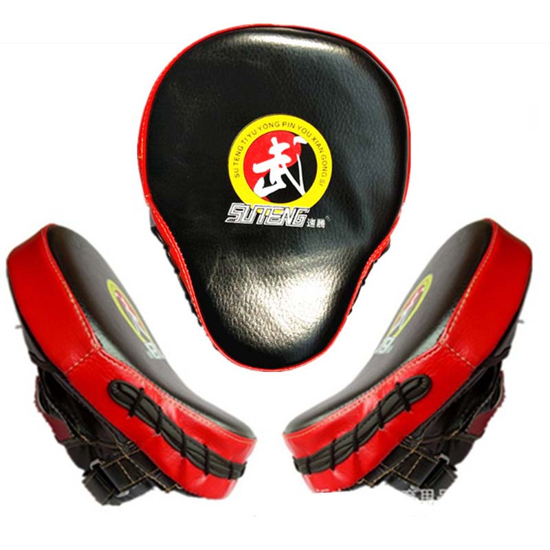 Suteng 2 шт. рук боксерские удар колодки для подготовки удар фокуса Санда каратэ/Муай Тай/Boxeo/ MMA/тхэквондо оборудования DEO