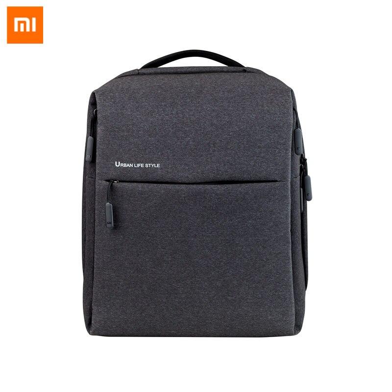 Original Xiaomi Mi Backpack Urban Life Style Shoulders OL Bag Rucksack Daypack School Student Bag Duffel