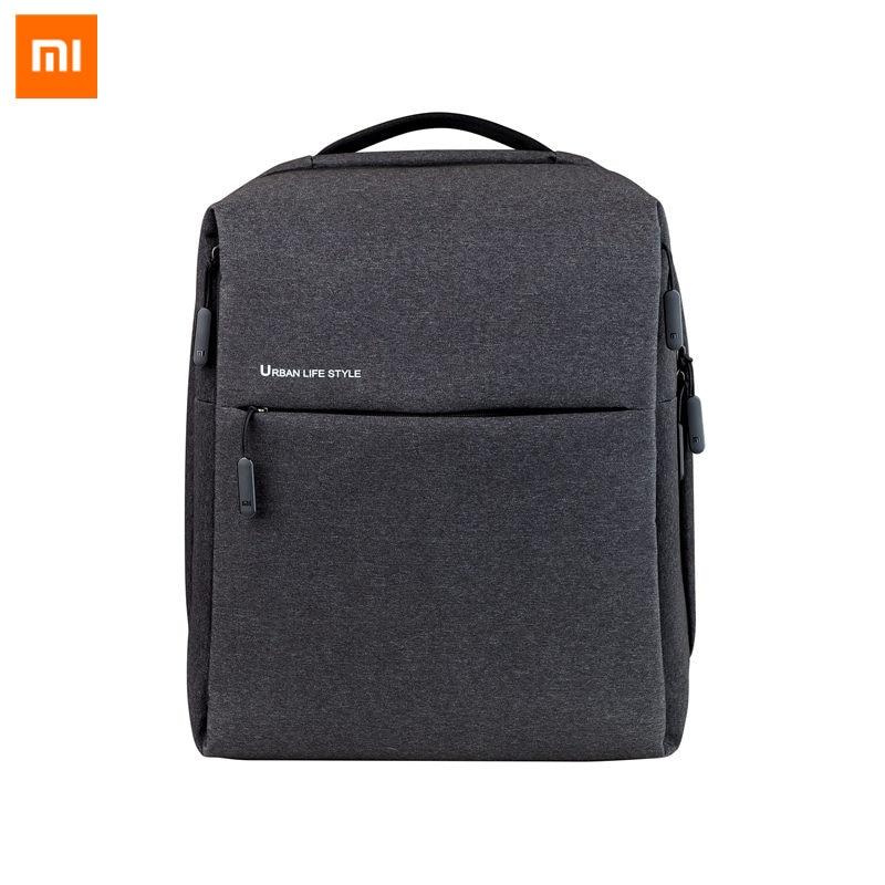Original Xiao mi mi sac à dos Style urbain epaules OL sac à dos sac à dos sac à dos école étudiant sac polochon 14 pouces sacs pour ordinateur portable