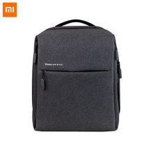 Original Xiaomi Mi กระเป๋าเป้สะพายหลัง Urban Life ไหล่สไตล์ OL กระเป๋า Rucksack Daypack นักเรียนกระเป๋า Duffel กระเป๋า 14 นิ้วแล็ปท็อปกระเป๋า