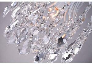 Image 4 - Plafonnier suspendu en cristal et fer à repasser, de caractère campagnard américain rétro, luminaire dintérieur, idéal pour une salle à manger ou une chambre à coucher