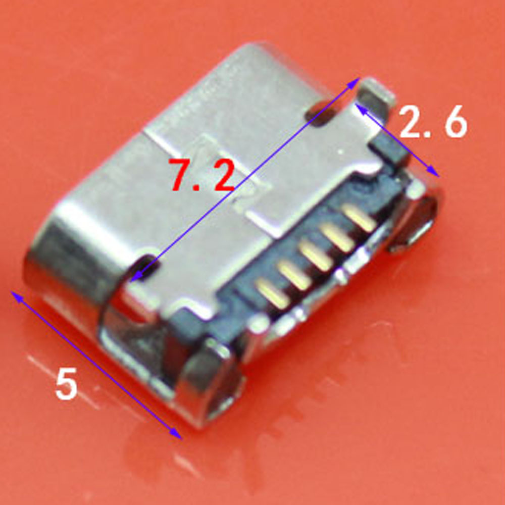 7.2 For Asus Fonepad7 2014 FE170CG ME170C ME170 K012 Micro usb Charge Charging Connector Dock Socket Port For <font><b>HTC</b></font> <font><b>HD2</b></font> <font><b>T8585</b></font> G10 image