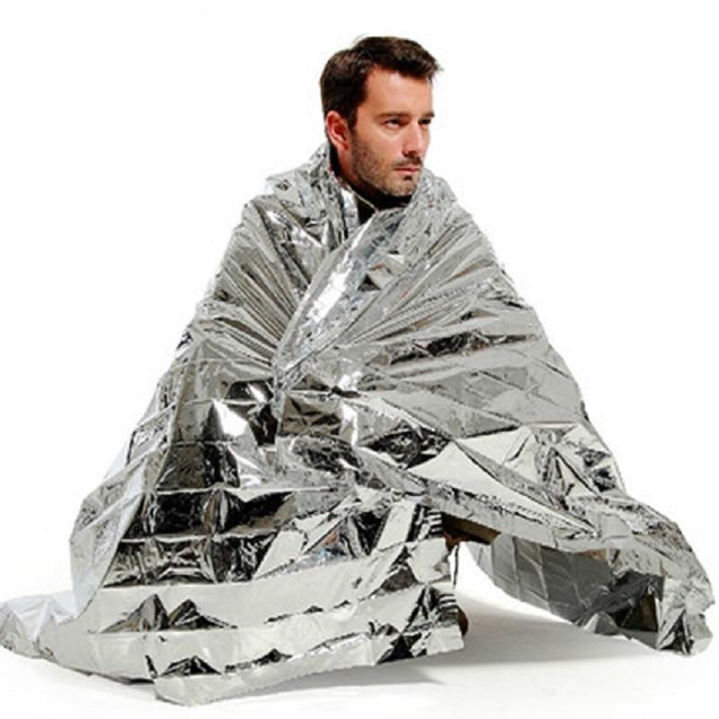 Camouflage Waterproof Foil Emergency Survival Blanket Thermal Rescue Blanket HK