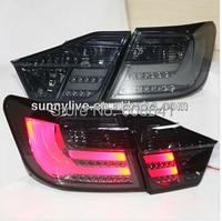 2012 2014 год Camry V50 Aurion светодиодные задние дым черный tw