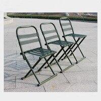Silla plegable portátil SUFEILE  silla militar para adulto  silla para pesca al aire libre con tren  pequeño banquillo  taburete bajo SY17  1 unidad