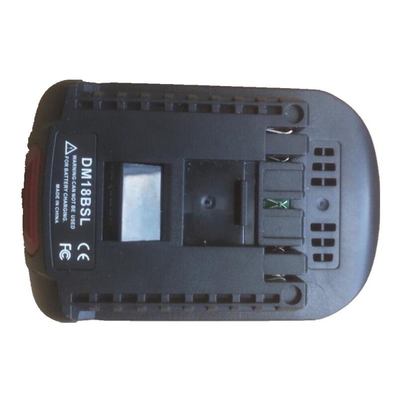 Разъем адаптера аккумулятора, используемый для Bosch, электрические инструменты заменяют литий-ионный аккумулятор Bosch с 6 батареями известног...