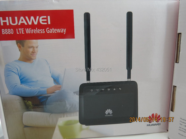 Huawei B880 150Mbps 4G FDD & TDD LTE Router (B880-70) Successor of The B593(Antenna included)
