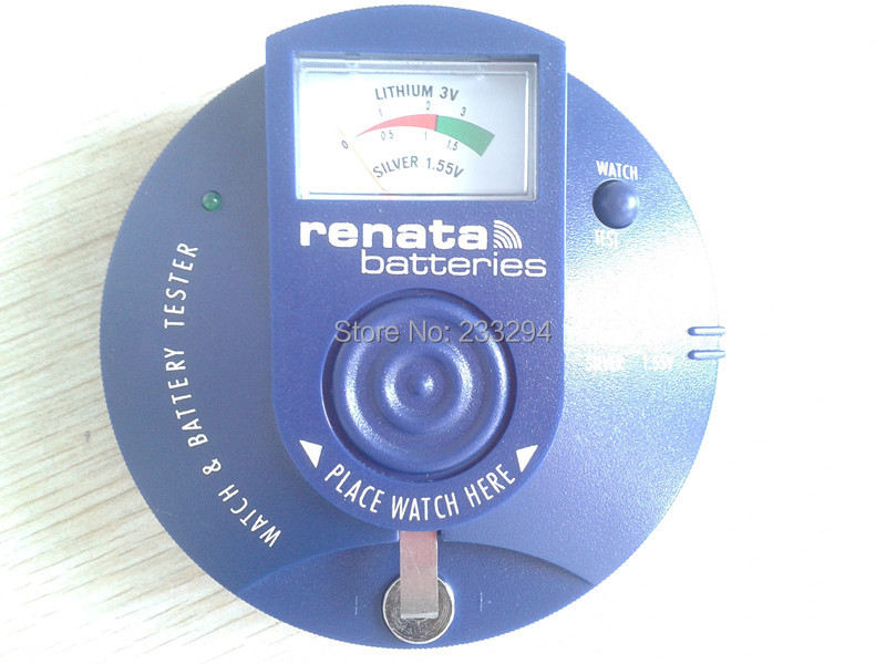 RENATA WATCH BATTERY TESTER ANALYZER NEW