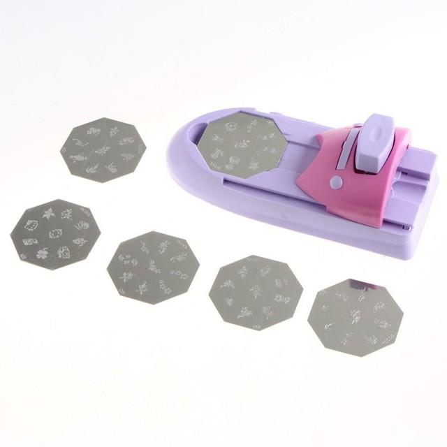 hochwertige nagel gel nagel drucker diy muster nagellack druckmaschine nagel werkzeuge a original retail - Muster Gelnagel