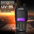 Baofeng UV-5S Antidust IP67 A Prueba de agua Walkie Talkie de Radio de Doble Banda 136-174 Mhz y 400-520 Mhz de mano Radio de dos Vías