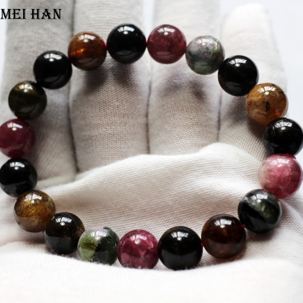Wholesale 19beads set 30g set A natural tourmaline 10mm round loose beads stone gift for jewelry