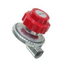Регулируемый от 0 до 20psi Регулятор пропана LP газовый нагреватель плита цилиндр клапан часть