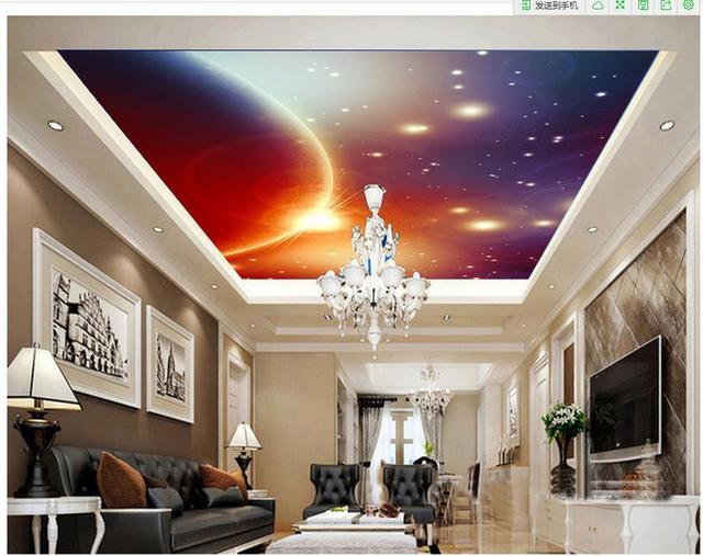 3d Tapete Fur Wohnzimmer Decke Mural Design Foto 3d Wallpaper