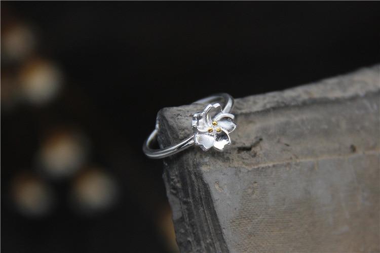 GLSEEVO S925 ստերլինգ արծաթե նորաձևություն - Նուրբ զարդեր - Լուսանկար 2