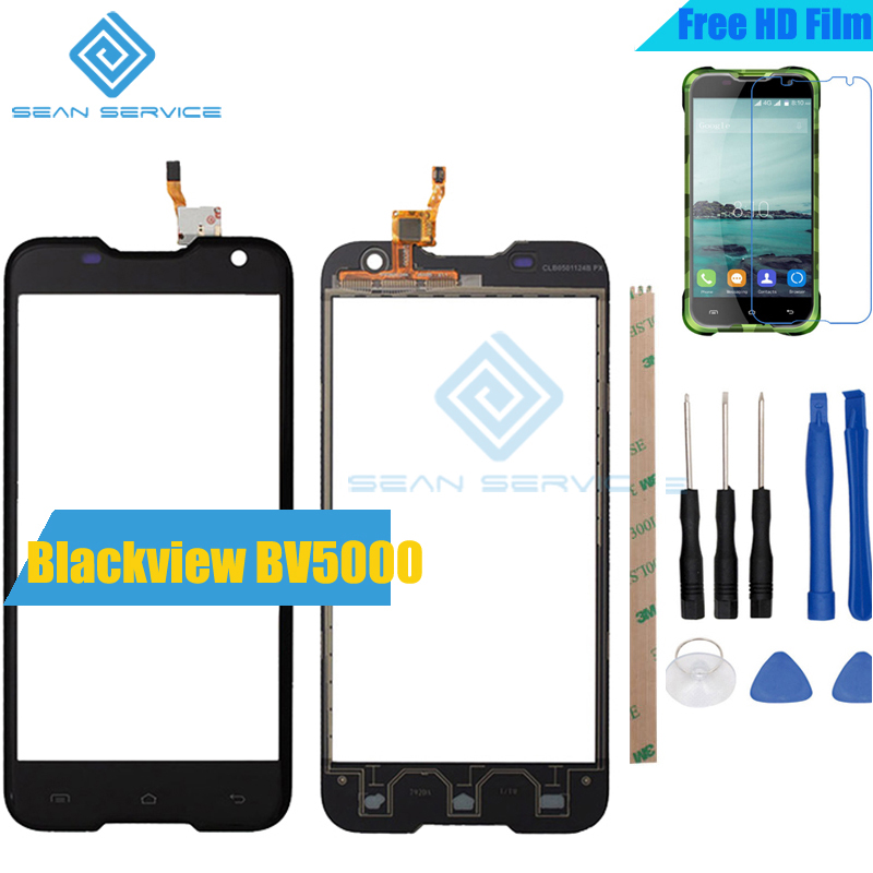 For Blackview BV5000 TP Touch Panel Perfect Repair Parts +Tools 100% Original Touch Screen 5.0inch For Blackview BV5000 Glass