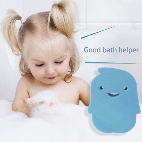 LANBENA Cartoon Bath Sponge Baby Cleanning Tool Ultra Soft Body Scrubber Bath Shower Brush Exfoliating Dirt Remover Body Care Pakistan