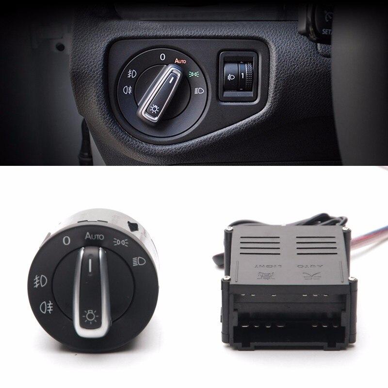 Auto Headlight Sensor+Chrome Switch for VW Lavida Golf Jetta Bora Polo Beetle Bora Crystal charp Lavida Passat B5 стоимость