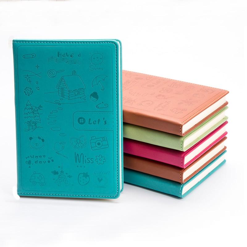 Hard Cover Gestippelde Snoep Kleur A5 Kunstleer Notebook Elastische - Notitieblokken en schrijfblokken bedrukken - Foto 4