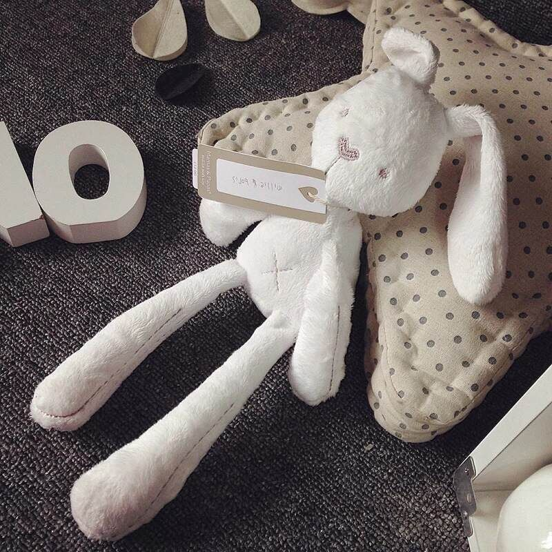 50cm Cute Rabbit Doll Baby Soft Plush Toys For Children Bunny Sleeping Mate Stuffed &Plush Animal Baby Toys For Infants