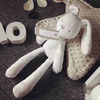50cm Cute Rabbit Doll Baby Soft Plush Toys For Children Bunny Sleeping Mate Stuffed &Plush Animal Baby Toys For Infants 38cm luxury mogo bunny doll easter gift soft toys 100% handmade stuffed animal ballerina bunny doll princess bunny doll