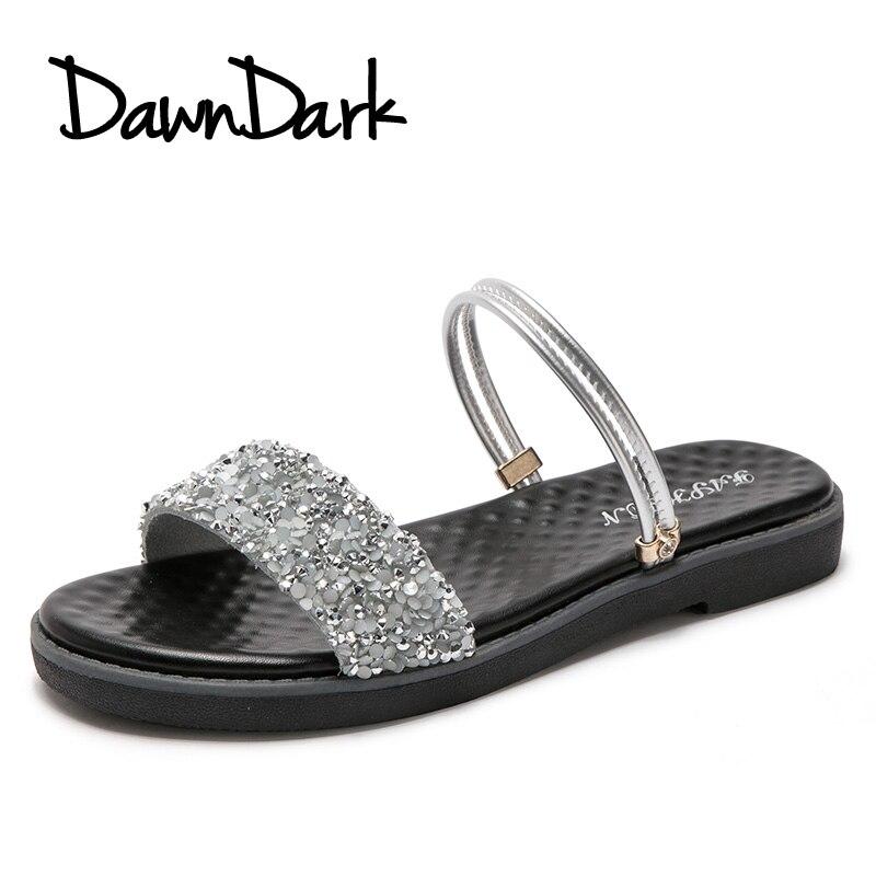 Для женщин тапочки уличные женские туфли на плоской подошве вьетнамки из натуральной кожи открытый носок сандалии летние женские пляжные ш...